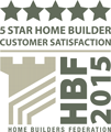 5 Star Home Builder For Customer Satisfaction