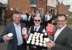 House builder raises money for charity at Houghton Conquest launch