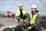 Kier Living Wales and West lay foundations and first bricks at Urban Quarter, Bristol
