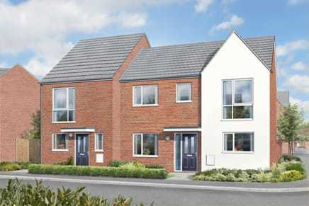 New homes in Newcastle Under Lyme