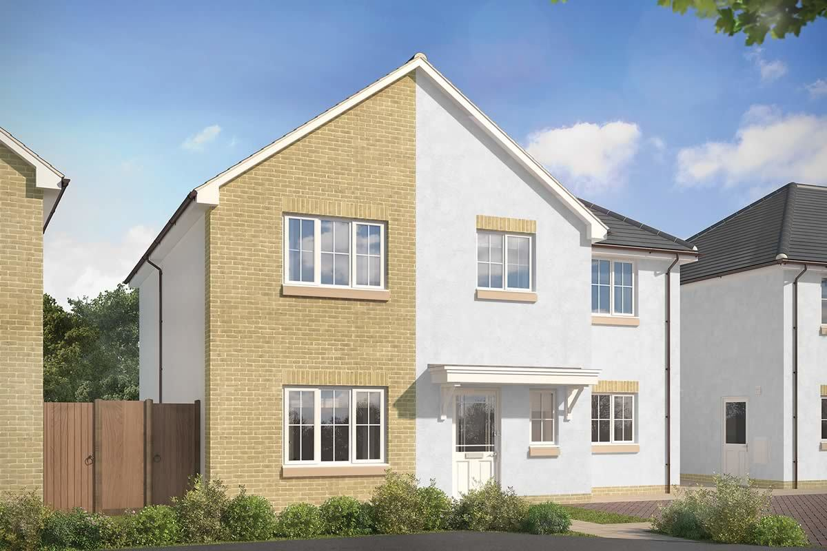 4 bedroom, The Hopetown home in Falkirk