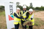 Work starts at Saxon Fields in Blofield