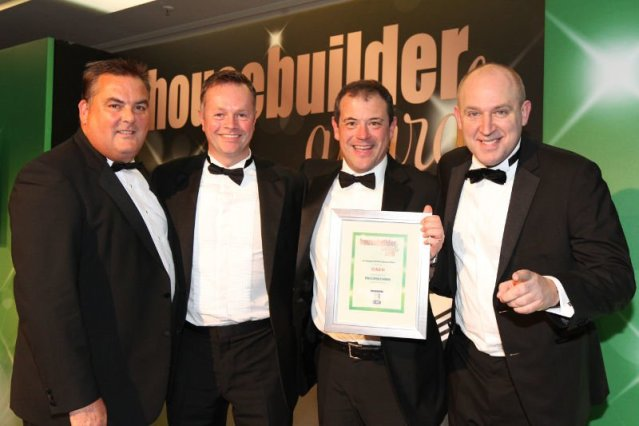 Housebuilder Award for design at The Waterfront, Worthing