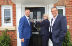 Housebuilder raises money for charity at Aston Clinton launch