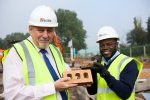 First bricks laid for Elderwood Place Homes