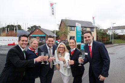 Kier Living celebrates the launch of Caerwent Gardens its first development in Dinas Powys