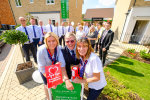 House builder raises money for charity at Harlow launch