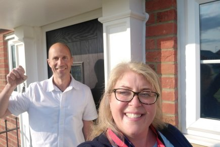 Last house sold on Stortford Fields following chance encounter