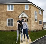 Young couple achieve homebuying ambitions in Corby