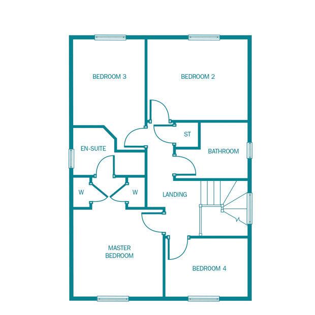 4 Bedroom Home In Baldwin's Gate, ST5 5DD