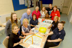 Housebuilder staff put Potton on the map