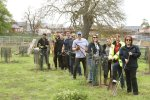 Kier volunteers give Potton Town Cricket Club and community orchard some TLC