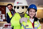 Pupils get safety message from mascot Kieran