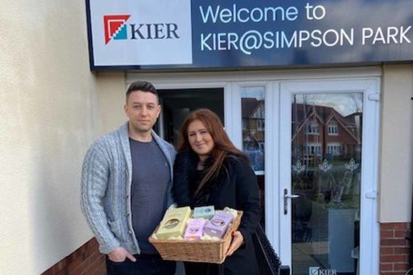 Simpson Park first time buyers win Valentine's competition