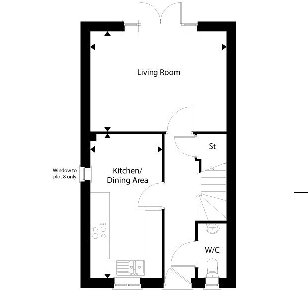The Palmerston ground floor floorplan