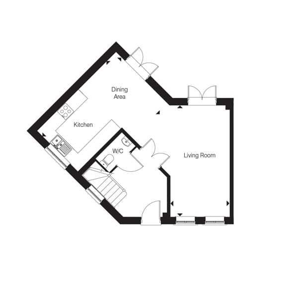 Bullington ground floor floorplan