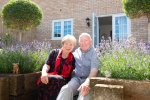 Jean and Cliff happily settled at Jubilee Chase in Royston