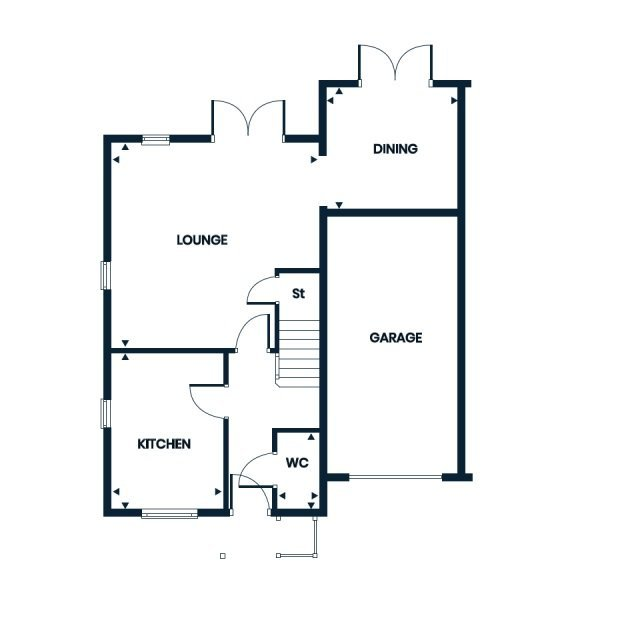 Winsford ground floor floorplan