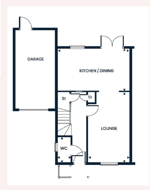 The Hopwood ground floor floorplan