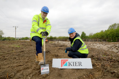 Work gets underway creating new homes  in Long Melford